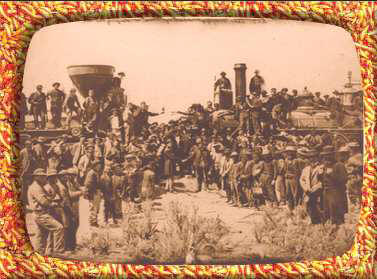 golden spike ceremony may 10, 1869